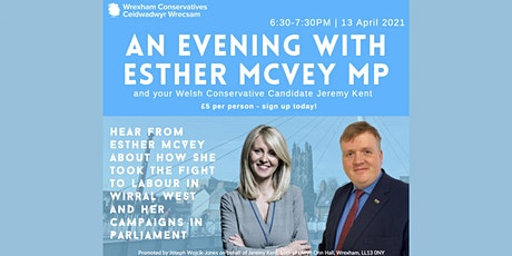 An Evening With Esther McVey MP - April 13th 6.30-7.30pm tickets