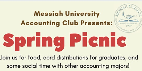 Accounting Club Spring Picnic tickets