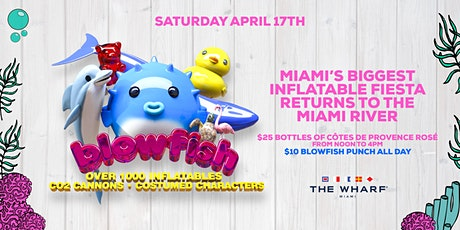 "Blowfish ""Miami's Biggest Inflatable Extravaganza!"" tickets"
