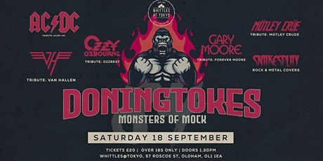 Doningtokes - Monsters of Mock tickets
