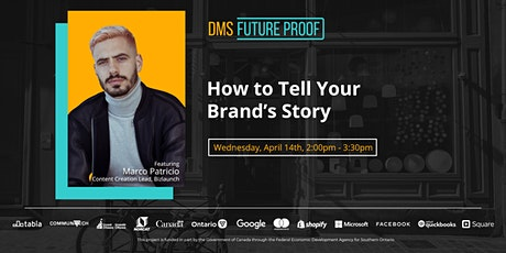How to Tell the Story of Your Brand tickets