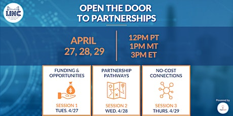Open the Door to Partnerships: Benefit Your Business in 3 Short Sessions tickets