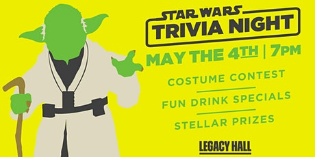 Star Wars Trivia at Legacy Hall tickets