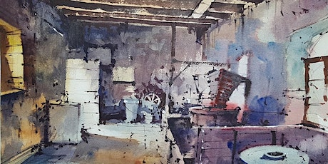 Inside the Mill - painting an interior:  watercolours with Tim Wilmot tickets