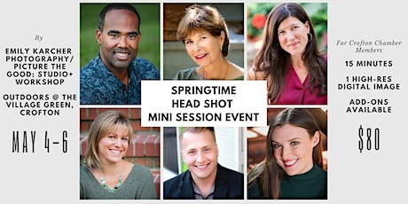 Springtime Head Shots for the Greater Crofton Chamber of Commerce tickets