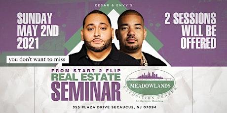 Cesar & DJ Envy's Real Estate Seminar [NY/NJ] billets