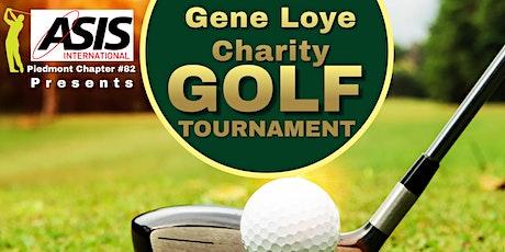 Gene Loye Charity ASIS Golf Tournament tickets