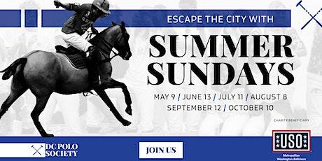 DC Polo Society - Summer Sundays tickets