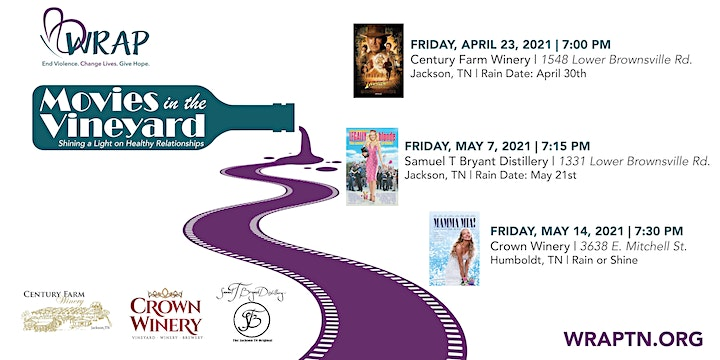 The City of Jackson Presents WRAP's First Annual Movies in the Vineyard image