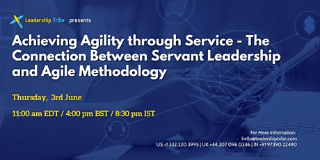 Achieving Agility through Service - 030621 - Sweden tickets