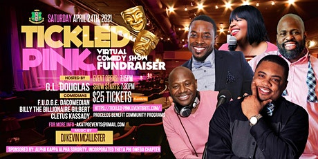 TICKLED PINK COMEDY SHOW FUNDRAISER tickets