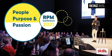 REINZ RPM Conference | People, Purpose & Passion | Thur 23 September 2021 tickets