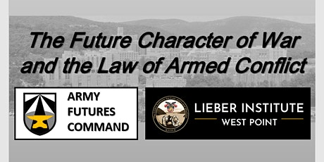 The Future Character of War and the Law of Armed Conflict tickets