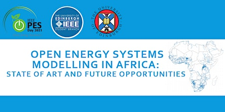 Open Energy Systems Modelling in Africa:  State of the Art and Future tickets