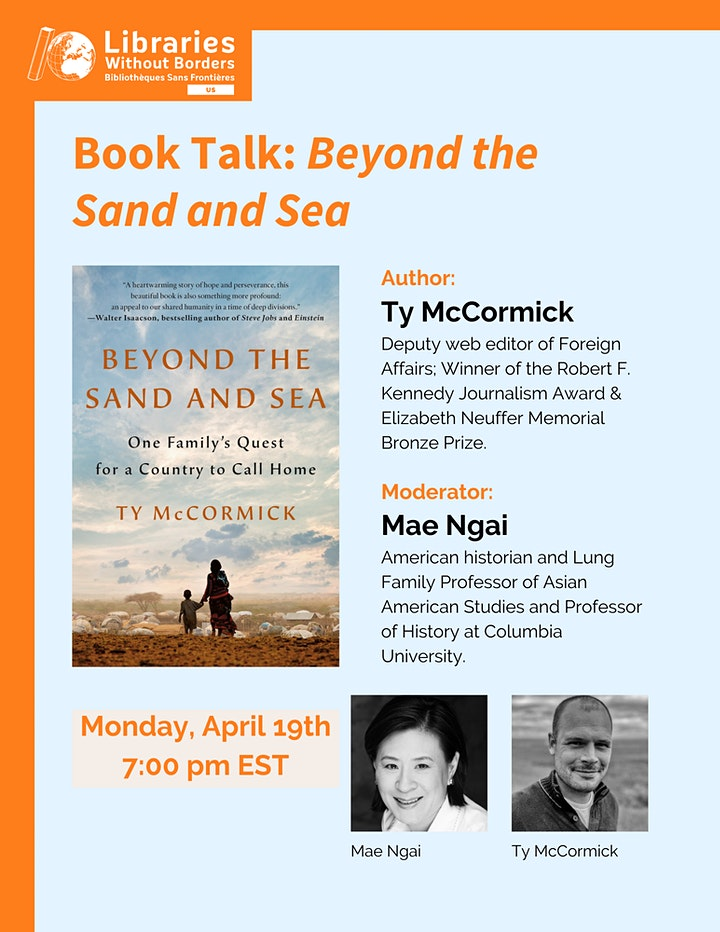 LWB US presents: Beyond the Sand and Sea with Ty McCormick and Mae Ngai image