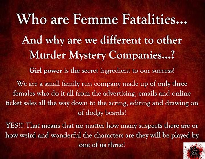 Summer Fete-alities - By Femme Fatalities Murder Mysteries Online image