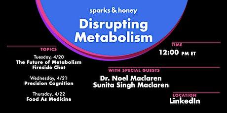 Disrupting Metabolism biglietti