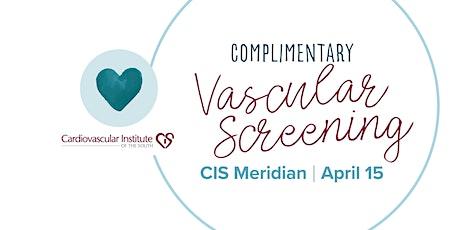 RESCHEDULED: CIS Meridian Vein Screening tickets