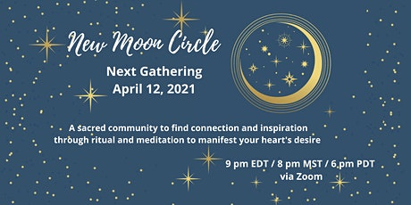 April New Moon Circle tickets