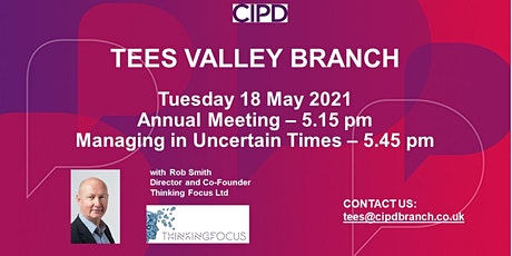 Managing in Uncertain Times (incl Annual Meeting) tickets