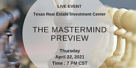 The Mastermind Preview (Live Event) tickets