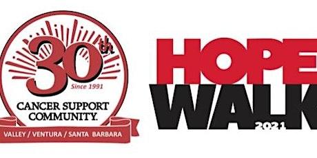 3rd Annual CSCVVSB Virtual Hope Walk Week tickets
