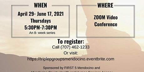 Teen Triple P Parenting Group-ZOOM Video Conference[Apr 29 - Jun17, 2021] tickets