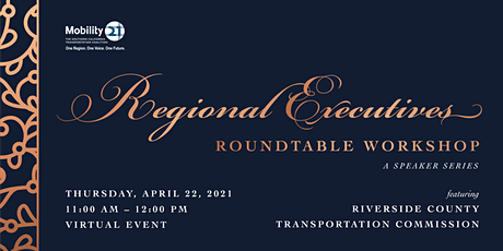 Regional Executives Roundtable Workshop Featuring RCTC tickets