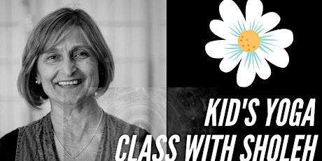 Online Kids Yoga, Mindfulness Class tickets