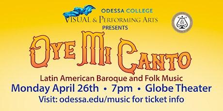Oye Mi Canto - Spring Choir Concert tickets