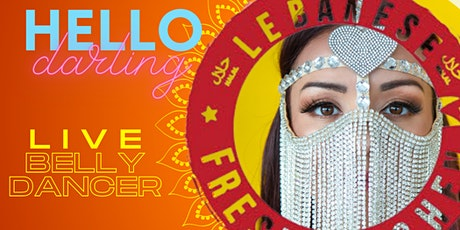 DINNER & BELLY DANCE SHOW - Saturday, April 24th tickets