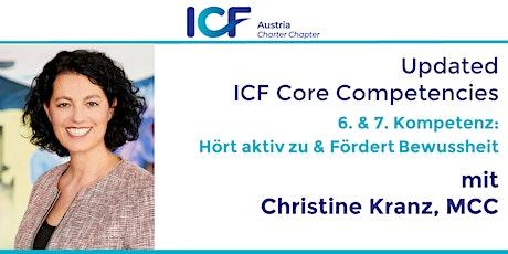 Updated ICF Core Competencies: Hört aktiv zu & Fördert Bewusstheit Tickets
