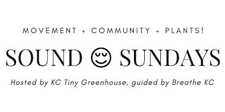 Sound Sundays w/ KC Tiny Greenhouse & Breathe KC tickets