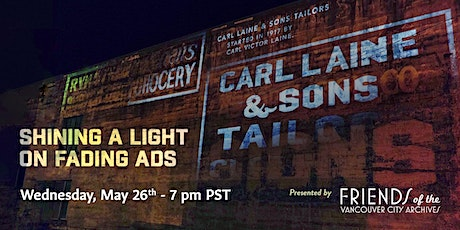 Shining A Light On Fading Ads tickets
