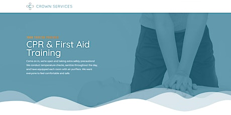 Heartsaver First Aid with CPR/AED - Adult Only - English Class tickets