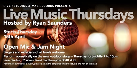 Live Music Thursdays - Open Mic @ River Studios tickets