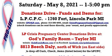 W12CDRC-ProLifeEvent 3.0 (Event to aid LPCPC) tickets