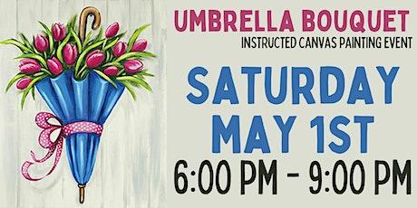 Umbrella Bouquet Canvas Painting Event tickets