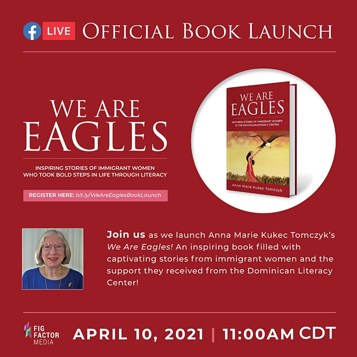 We Are Eagles by Anna Marie Kukec Tomczyk Official Book Launch image