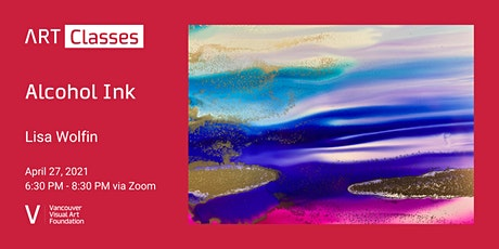 Alcohol Ink Art Class tickets