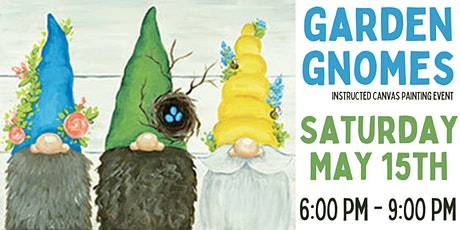 Garden Gnome Canvas Painting Event tickets
