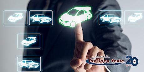 Formation pour devenir agent de vente numérique Web automobile billets