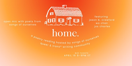 home. a queer poetry reading tickets