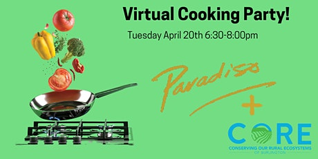 Cooking with Paradiso Restaurant - fundraiser for CORE Burlington tickets