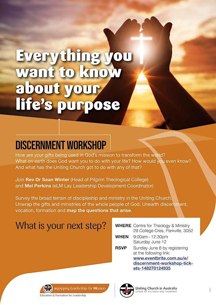 Discernment Workshop image