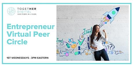 Entrepreneur Peer Circle Tickets
