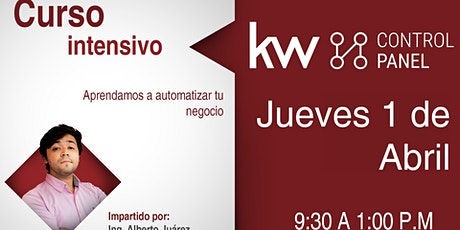 Curso intensivo KW Control Panel (virtual) tickets