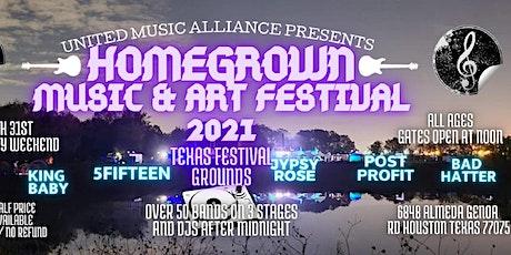 Homegrown Music & Art Festival 2021 tickets