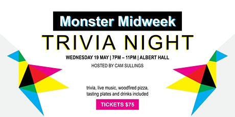 Monster Midweek Trivia Night tickets
