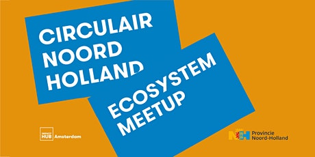 Water in de circulaire economie | Ecosystem meetup tickets